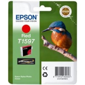 Epson T1597 Red Ink