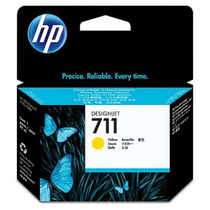 HP No.711 29ml Yellow Ink [CZ132A]