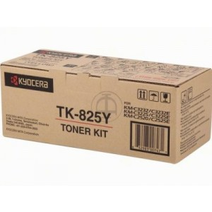 KYOCERA Toner TK-825Y Yellow