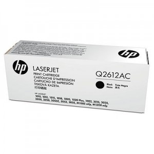 HP Toner No. 12A Black [Q2612AC]