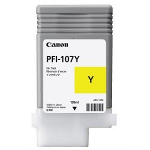 Canon Dye Ink Tank PFI-107 Yellow130 ml