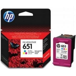HP No. 651 Tri-colour