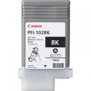 Canon Dye Ink Tank PFI-102 Photo Black 130ml