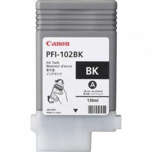 Canon Dye Ink Tank PFI-102 Photo Black 130ml