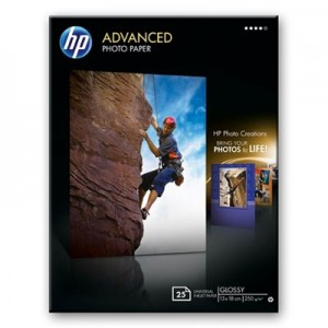 HP Advanced Glossy Photo Paper Q8696A