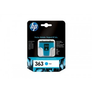 HP No.363 Cyan Ink Cartridge (