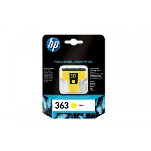 HP No.363 Yellow Ink Cartridge